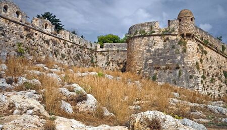 fortezza: Rethimnon fortezza - old fortress in Greece
