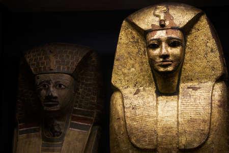 egyptian mummy: Egyptian Pharaohs sarcophagus