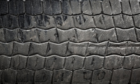 Background texture of used car tire photo