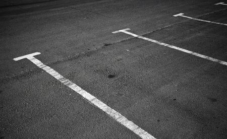 An empty parking places background texture photo