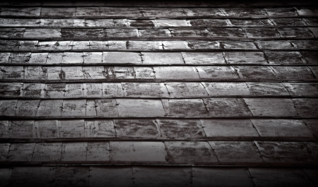 Old weathered dark metal wall background texture photo