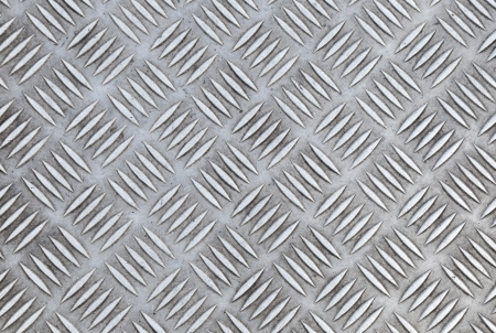 Closeup texture of diamond metal plate with details photo