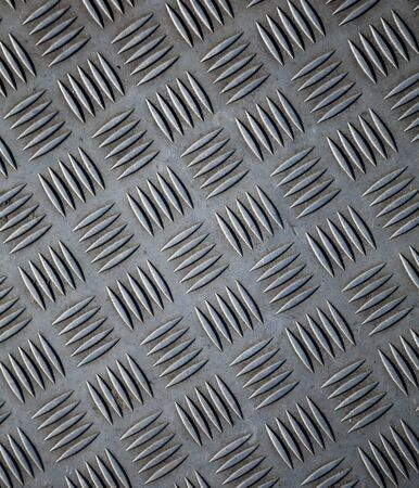 Closeup texture of diamond metal plate with details Stock Photo - 15841114