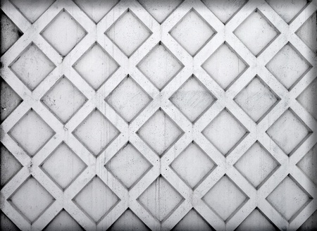 Concrete texture background  Plate of cement fence with square elements Stock Photo - 15840124