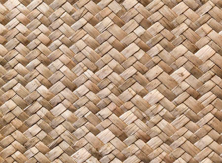 rattan mat: Wicker wall detailed background pattern