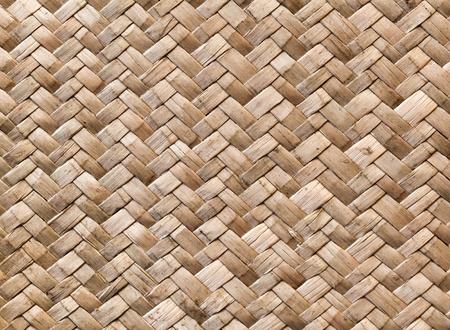 wicker work: Wicker wall detailed background pattern