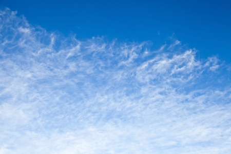 Light windy clouds on the blue sky Stock Photo - 15742064