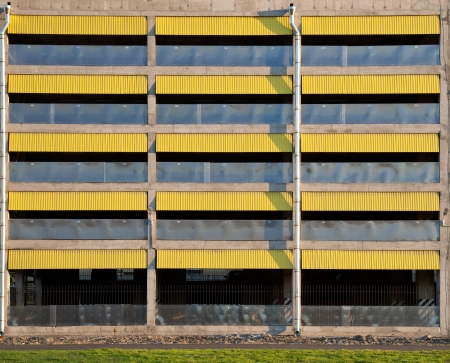 Texture of empty multilevel car parking garage wall Stock Photo - 15840875