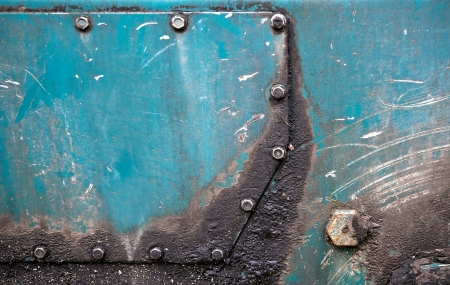 Abstract detailed green metal panel industrial background texture Stock Photo - 15840906