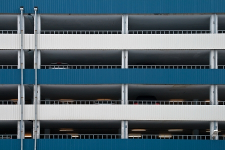 Multilevel car parking facade wall texture Stock Photo - 15742046