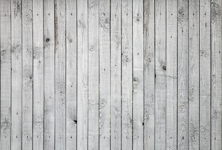 Background texture of old white painted wooden lining boards wall photo
