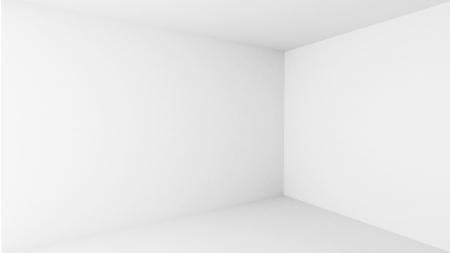 Abstract architecture background  Empty white room interior photo