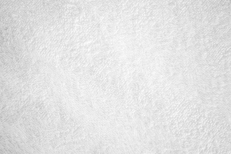 White natural cotton towel closeup background texture photo