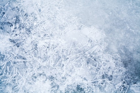 thin ice: Detailed background texture of fresh thin ice
