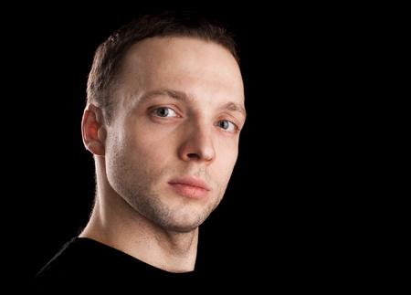 supercilious: Proud young Caucasian man