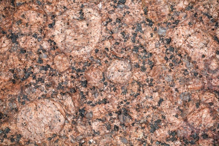 granit: Detailed relief texture of red granite stone Stock Photo