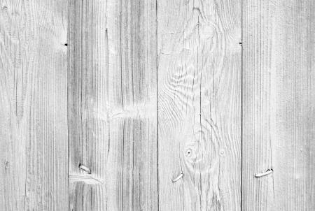 cerca blanca: Old textura de pared de fondo blanco con las u�as y el patr�n de madera natural