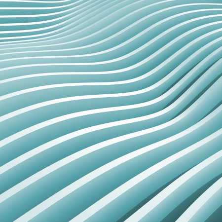 unequal: Abstract blue monochrome 3d wave background