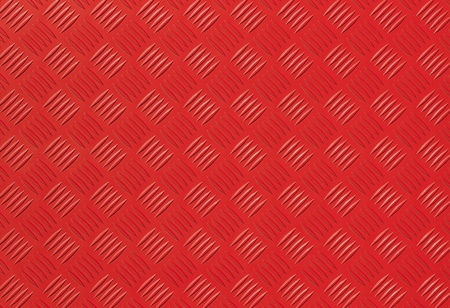 Red metal diamond plate photo background texture photo