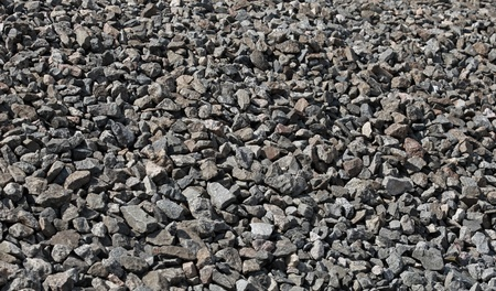 Dark granite gravel background texture photo