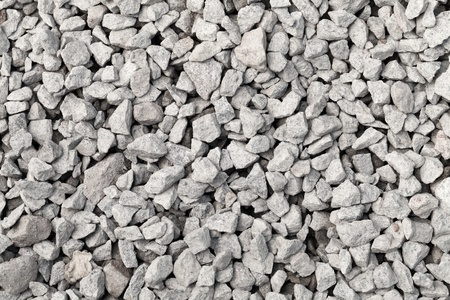 Gray industrial gravel background texture photo