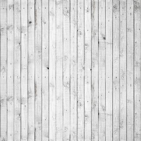 dřevěný: Bezešvé pozadí textury starého bíle malované dřevěné obložení kluby Zeď Reklamní fotografie