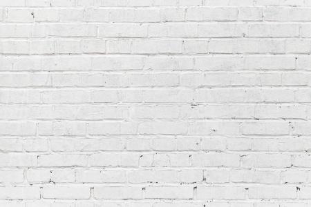 Witte bakstenen muur. Naadloze foto achtergrond textuur