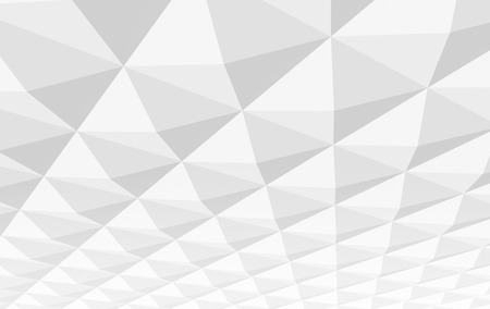 pyramidal: White square pyramidal cellular surface. Abstract 3d background