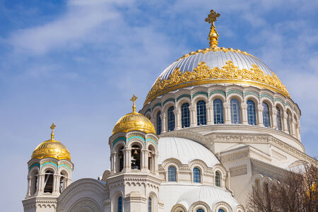Orthodox Naval cathedral of St  Nicholas  Built in 1903-1913 photo