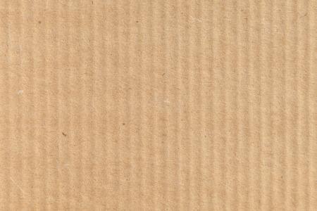 Brown modern cardboard closeup