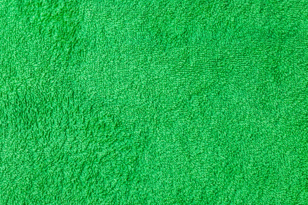 Green cotton towel macro photo texture photo
