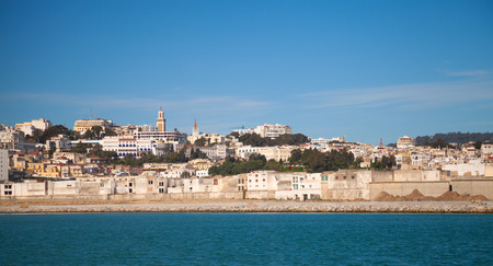 Tangier port panorama, Morocco, Africa