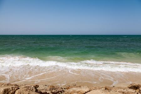 persian gulf: Coast of Persian Gulf in Saudi Arabia