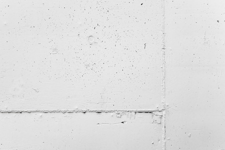 stone wall: White concrete wall  with plaster, background photo texture Stock Photo