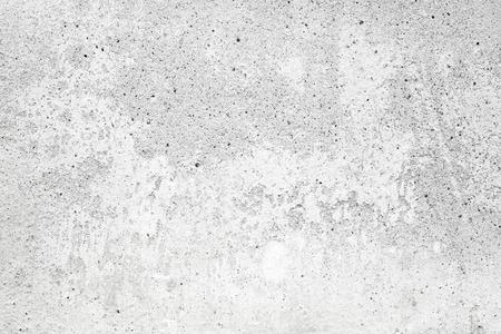 Witte betonnen muur met stucwerk en verf, textuur