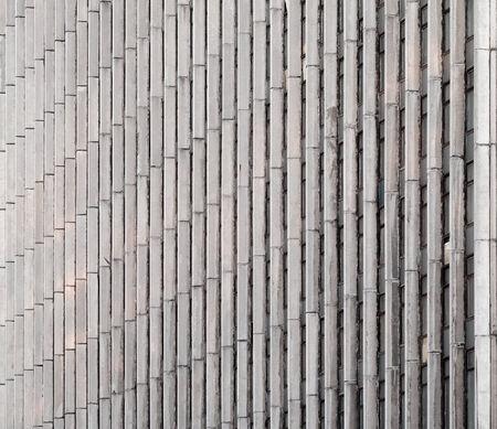lineas verticales: Fondo abstracto arquitectura. Muro de hormig�n con l�neas verticales y ventanas