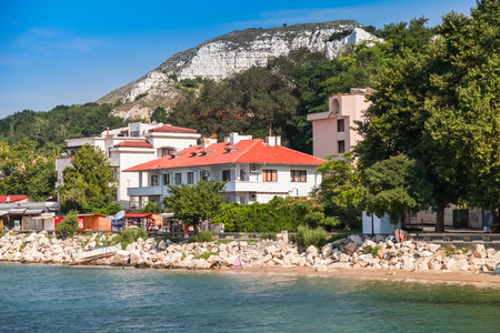 balchik: Summer landscape of Balchik, Coast of Black Sea, Varna region, Bulgaria