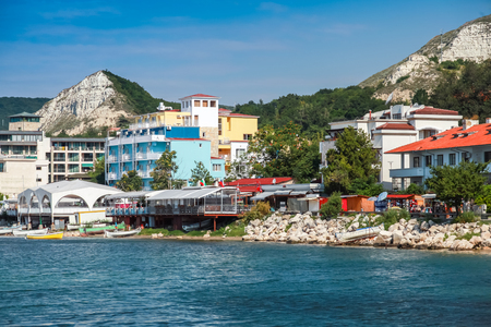 balchik: Summer landscape of Balchik town, Coast of Black Sea, Varna region, Bulgaria