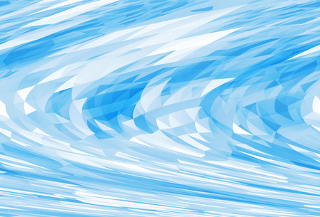 shear: Abstract chaotic bright blue digital triangle low poly background texture with shear effect Stock Photo