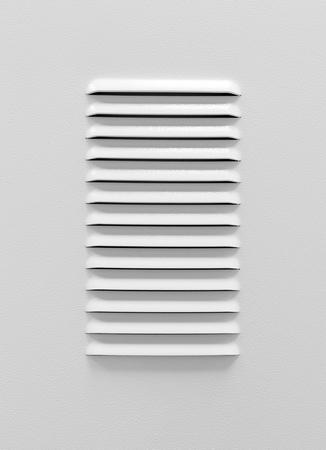 kratka: Biały metal panel z kratką wentylacyjną przemysłowych