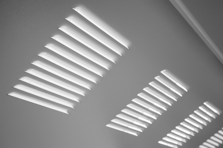 grille: White metal industrial wall with ventilation grille