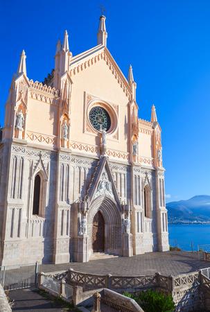 francesco: Saint Francesco Cathedral exterior. Gaeta, Italy