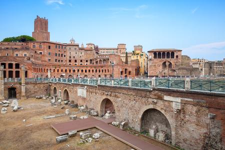 rodi: Fori imperiali and Casa dei cavalieri di Rodi, Rome, Italy Editorial