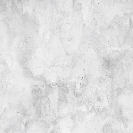 Witte betonnen muur met gips, vierkante achtergrond fototextuur
