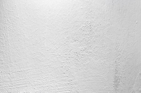 blanch: White painted concrete wall, closeup background photo texture Stock Photo