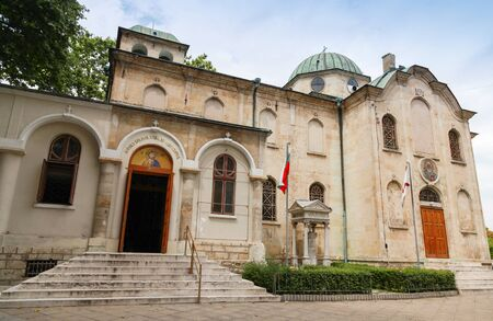 11 years: St. Nicholas the Miracle Maker Church in the central part of Varna, Bulgaria. The construction of church started in 1859, was completed 11 years later Stock Photo