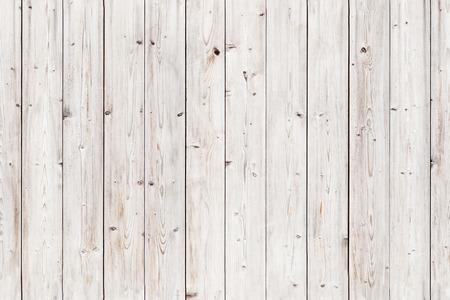 오래 된 흰색 나무 벽. 완벽 한 배경 텍스처 사진