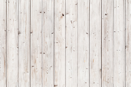 Old white wooden wall. Seamless background photo texture Standard-Bild