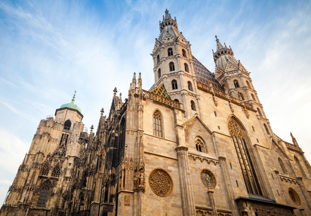 St. Stephen Cathedral or Stephansdom in Vienna, Austria