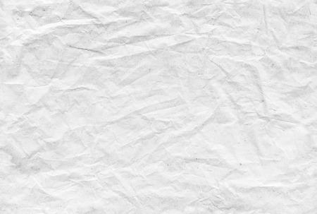 photo paper: Seamless old white crumpled paper pattern for background texture